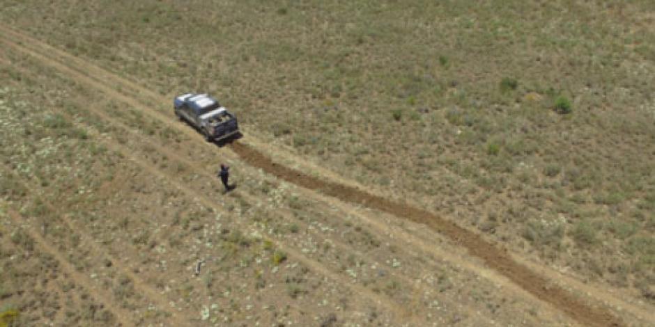 Policía Federal inhabilita pista de aterrizaje clandestina en Baja California