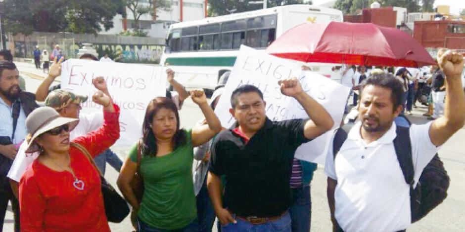 CNTE amenaza con dejar sin  clases a 1.3 millones de niños