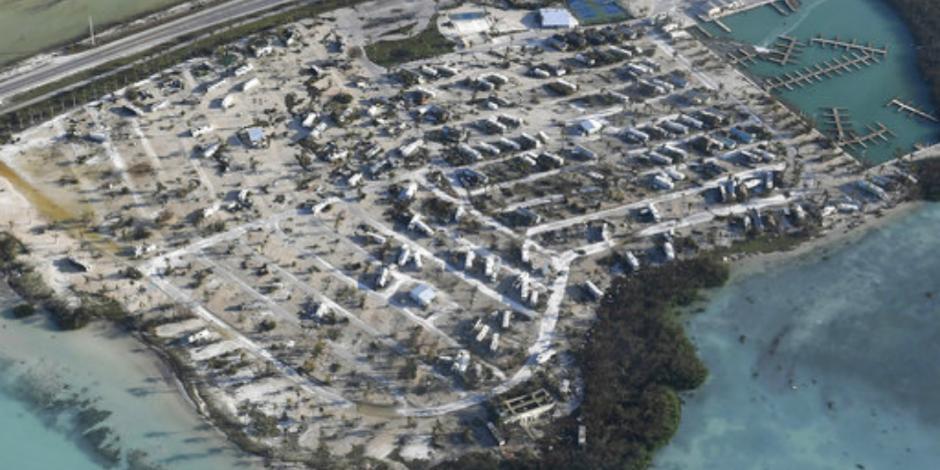 Regresan habitantes a los Cayos, Florida, arrasados por <em>Irma</em>