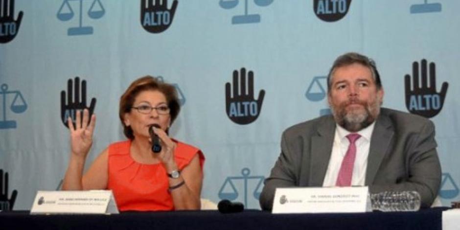 Veracruz encabeza secuestros en el país, informa Miranda de Wallace