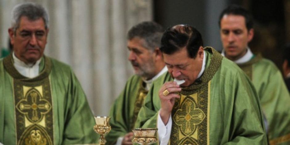 Arquidiócesis descarta encubrimiento de Norberto Rivera en 15 casos de pederastia