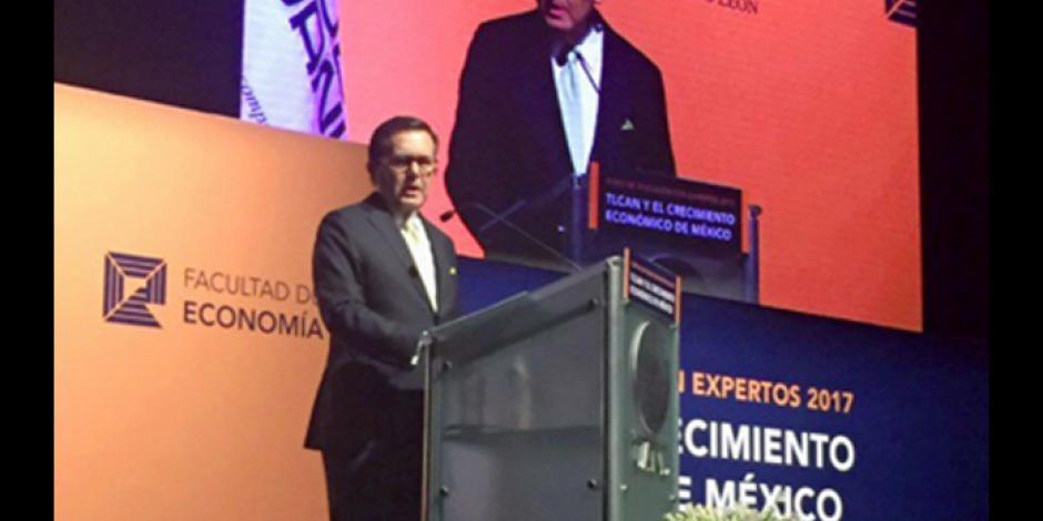 México no aceptará presiones en negociación de TLCAN, declara Guajardo