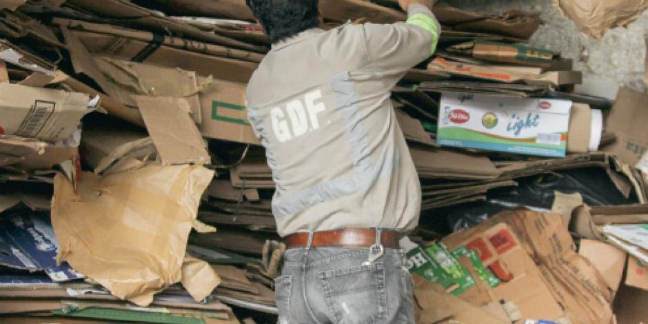 Con norma de basura se evitó enterrar 3.1 mil tons. en 5 días