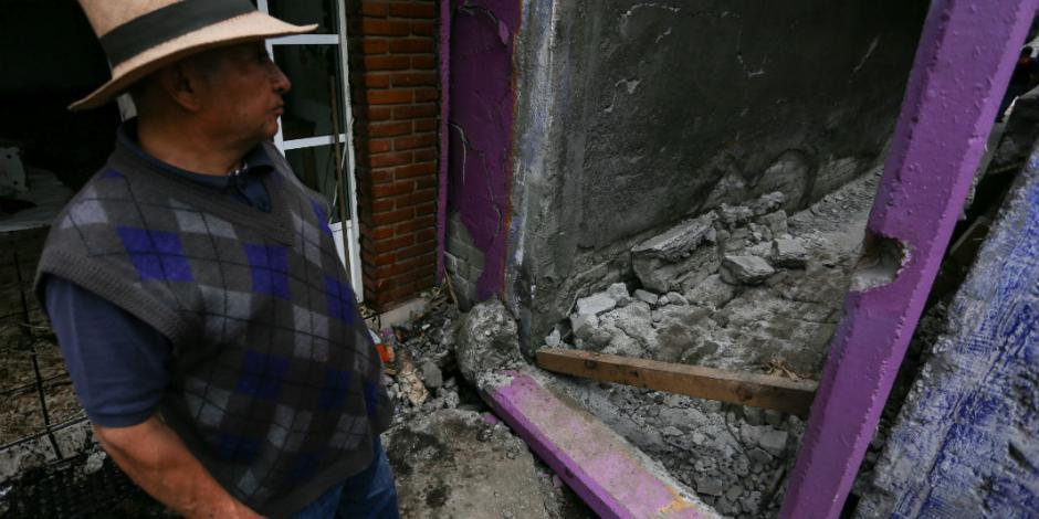 Edificios colapsados en CDMX esperan a ser demolidos