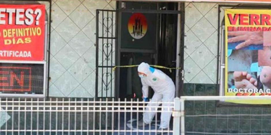 VIDEO: Ejecutan a doctora frente a sus hijos en Tijuana