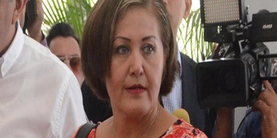 Avanza en Congreso de Veracruz desafuero de Eva Cadena