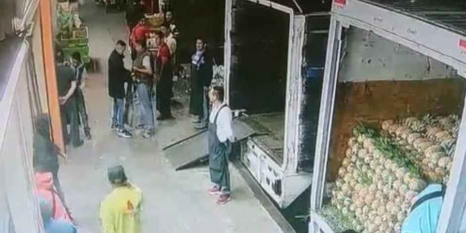 VIDEO: Así fue el robo en la Central de Abasto de Cancún