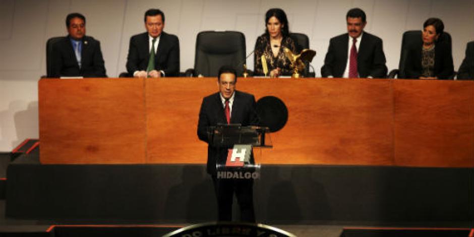 Hidalgo quita inmunidad al gobernador y a todo servidor público