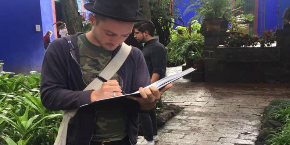Elijah Wood disfruta sus vacaciones en México