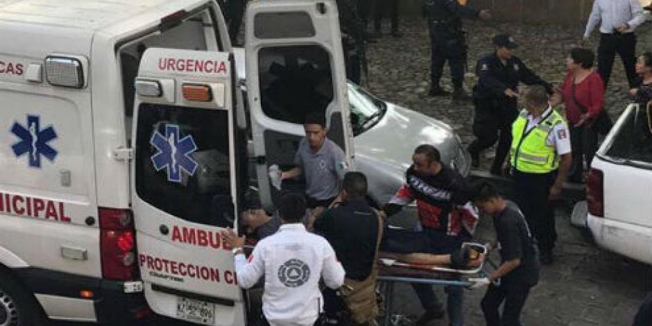 Explosión de pirotecnia deja dos heridos en Pátzcuaro