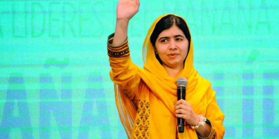 """Malala en México:  """"muros son inaceptables"""""""