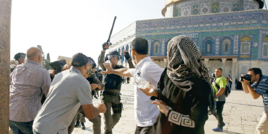 Deja nuevo choque en Jerusalén 113 heridos