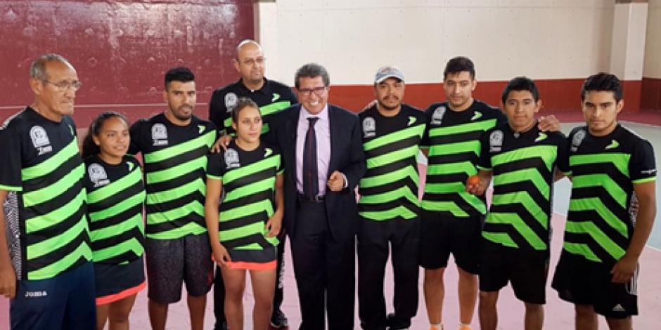 Disputan en Tepito primer Campeonato Mundial de frontball