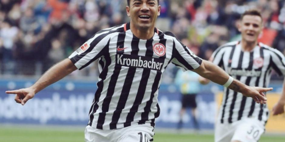 Eintracht Frankfurt anuncia baja de Marco Fabián por lo que resta de 2017
