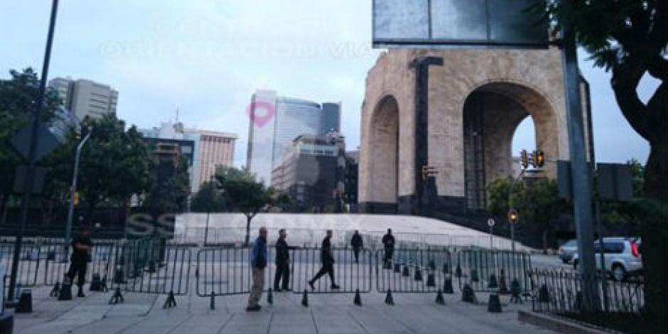 Manifestación y evento cultural bloquean paso al centro de la ciudad