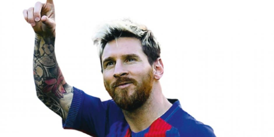 Tras renovar con el Barcelona Messi ganará 1.6 mdd por partido