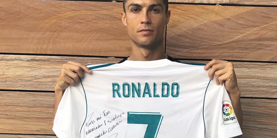Al final CR7 supo que su fan #1 era del Rébsamen