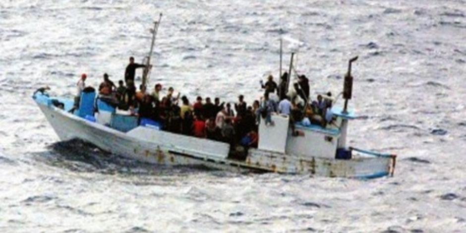 Guardia española rescata a 57 migrantes en el Mediterráneo