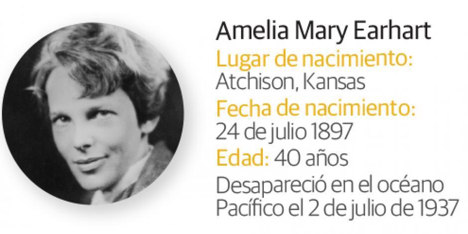 Buscan restos en una isla  perdida de la primera mujer piloto