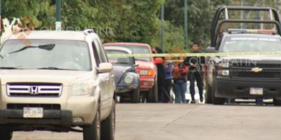 Balacera cerca de penal en Uruapan deja un muerto