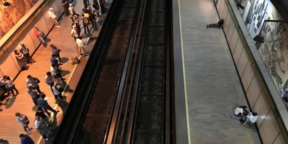 Se registra falla eléctrica en Línea 3 del Metro de la CDMX