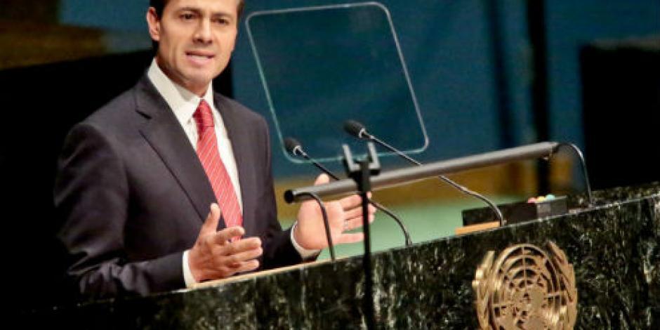 EPN dará su cuarto discurso ante Asamblea General de la ONU