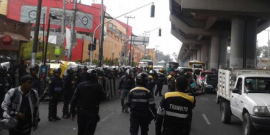 Trasladan a detenidos en operativo Tláhuac al Reclusorio Norte