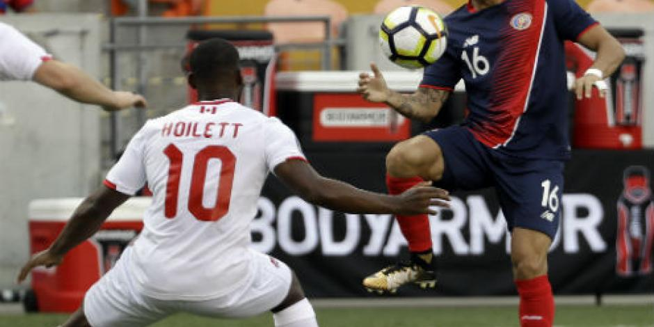 Costa Rica y Canadá empatan 1-1 y ponen en duda su pase a cuartos de final