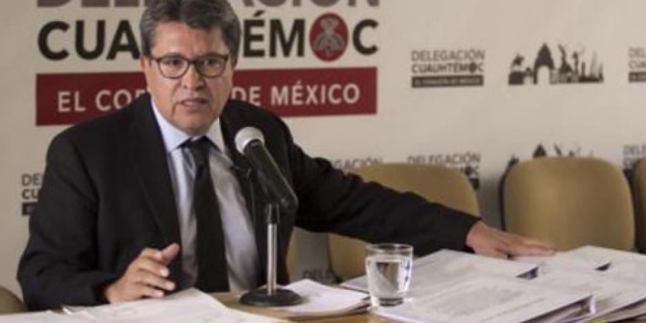 Este sábado, definirán mecanismo para elección de candidatos a la CDMX, asegura Monreal