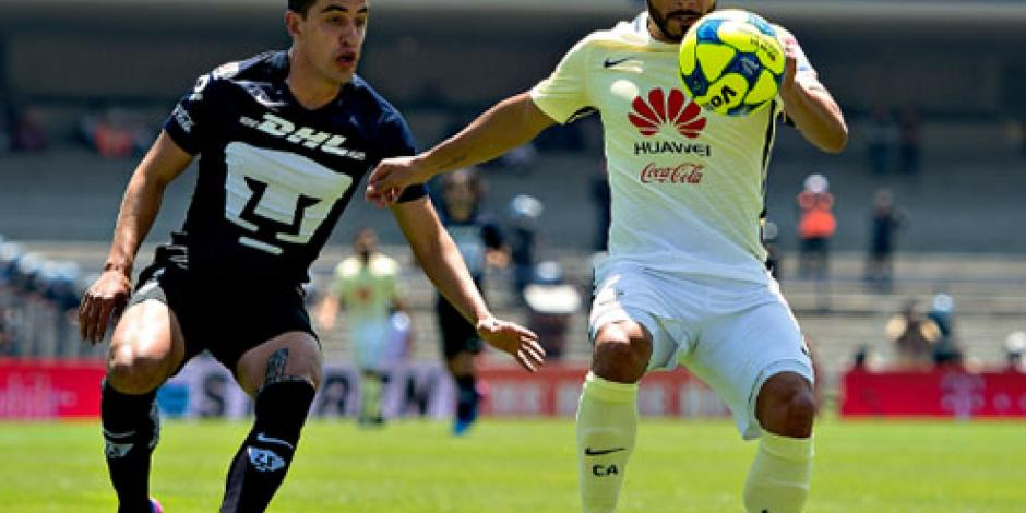 Con penal de Cecilio Domínguez, América derrota a Pumas