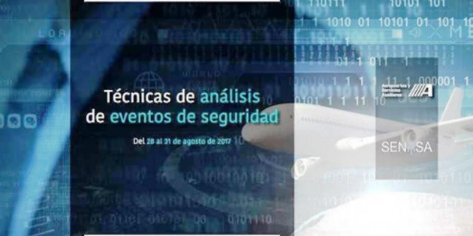 Prevén ASA y SENASA impartir curso de técnicas de análisis de eventos de seguridad
