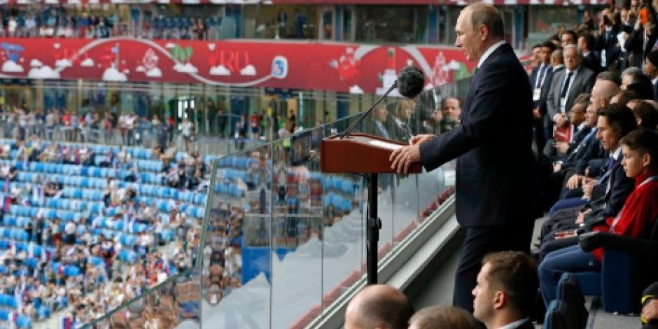 Putin encabeza inauguración de Copa Confederaciones