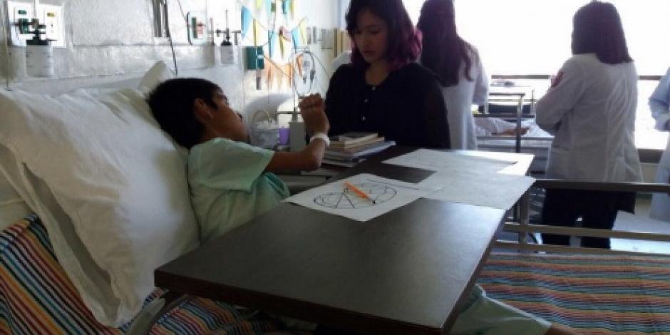 Secretaria de Salud cuenta con 184 aulas escolares en hospitales