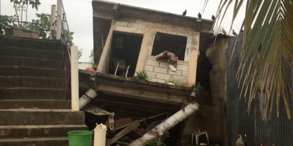 Sismo deja sólo daños materiales en Veracruz, informa Yunes