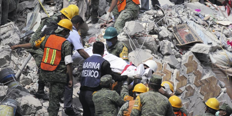 A siete días del temblor, una ciudad herida