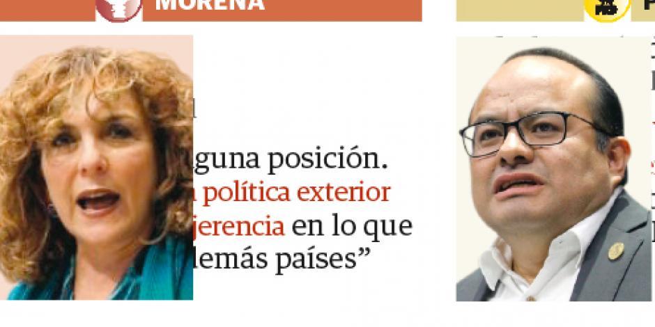 México no debe entrometerse en decisiones de Venezuela: Morena