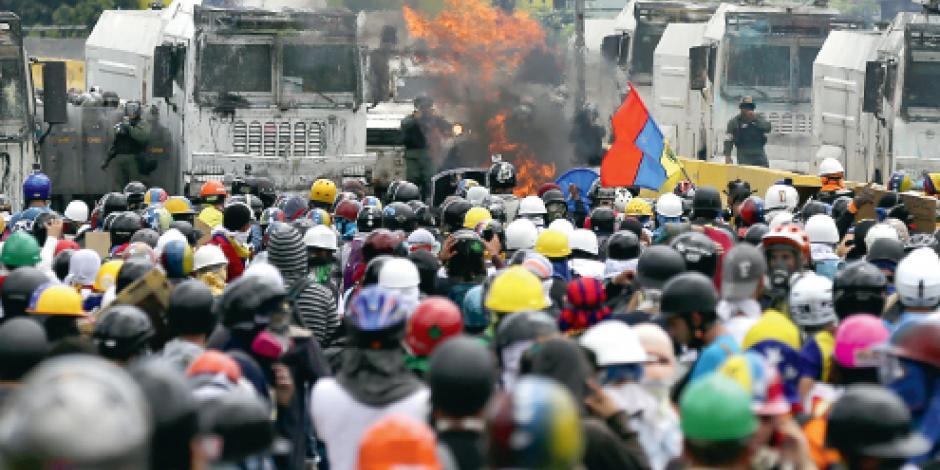 Militar mata a otro adolescente en una protesta contra Maduro