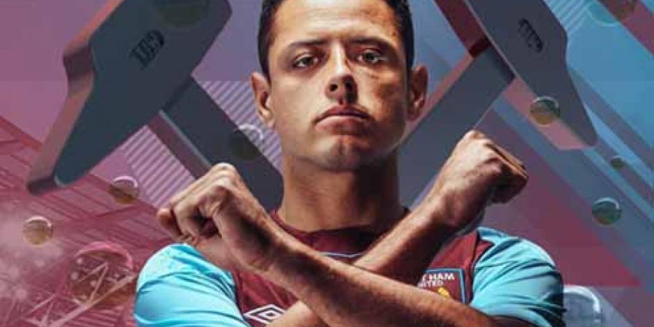 Fanático del West Ham recibe al Chicharito con nueva versión de La Bamba
