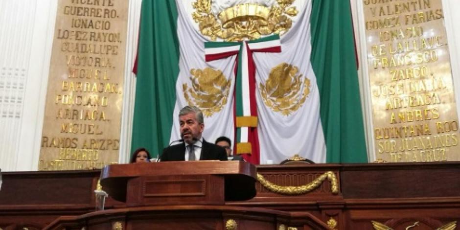"""Aprueban diputados llamar a comparecer a delegado de Tláhuac por caso de """"El Ojos"""""""