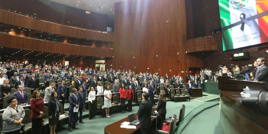 Diputados reconocen trabajo de Fuerzas Armadas en terremoto