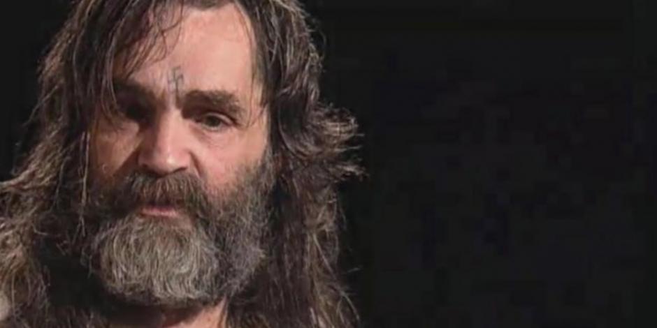 Revelan que Charles Manson murió por un paro cardiaco