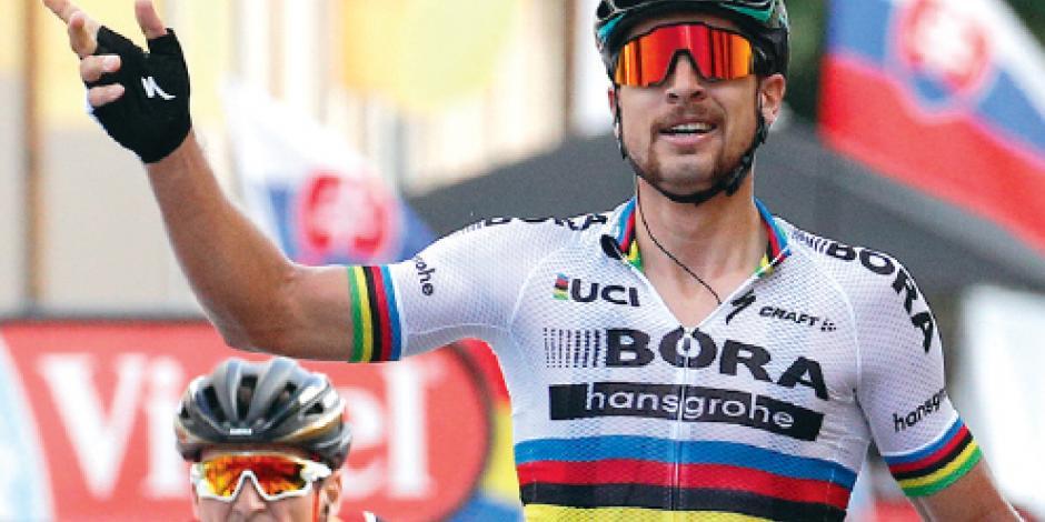 Sagan gana tercera etapa del Tour y se acerca en el liderato