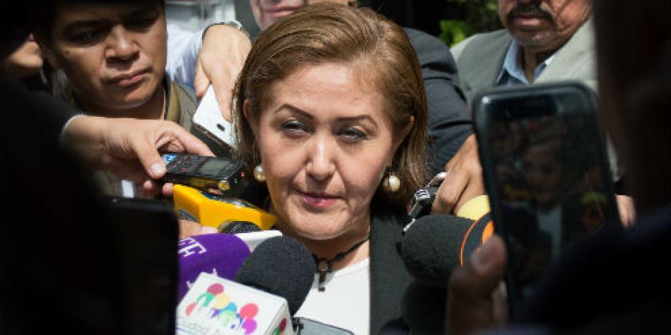 Eva Cadena denuncia amenaza de muerte; grupo armado le deja mensaje, afirma