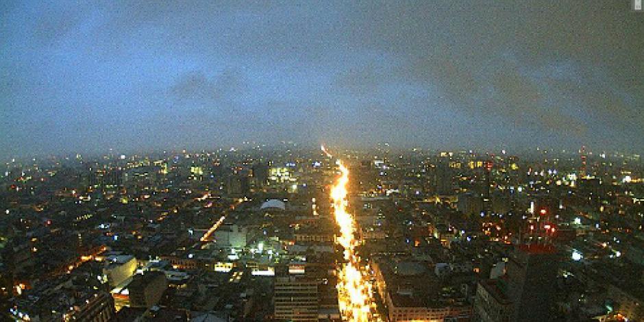 Alerta amarilla en la CDMX por pronóstico de vientos fuertes y lluvia intermitente