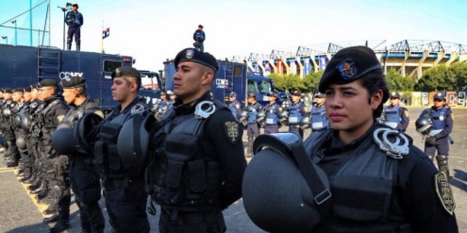 Inicia operativo Estadio Seguro para el partido de futbol Pumas-América