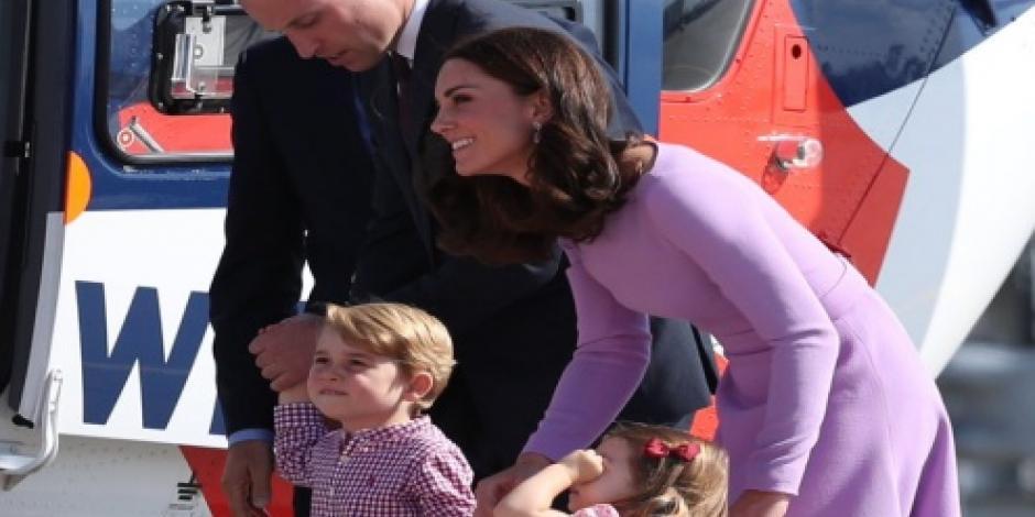 Casa Real británica da a conocer el retrato oficial del príncipe Jorge por su cumpleaños