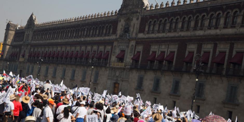 Reportan saldo blanco tras marcha contra el alza de la gasolina en CDMX