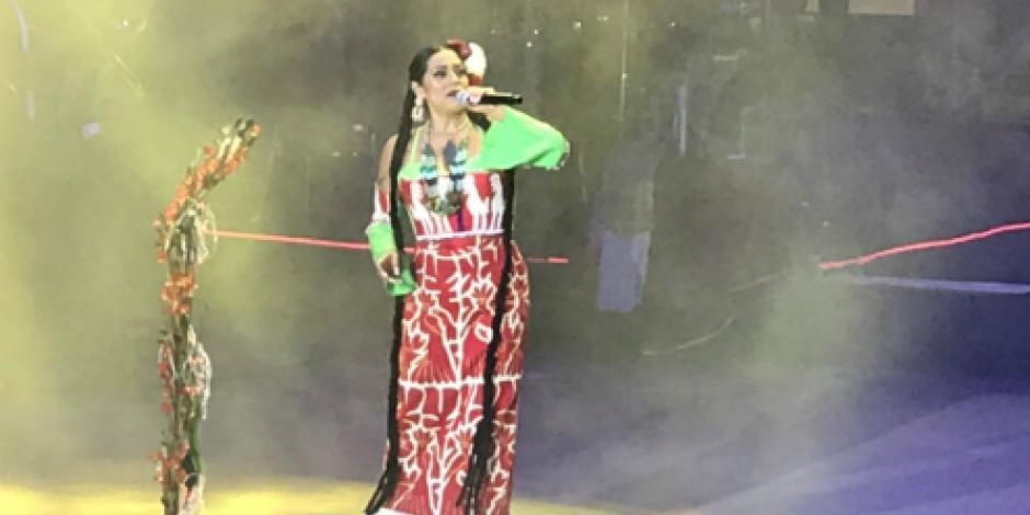 Concluyen festividades de la Guelaguetza con presentación de Lila Downs