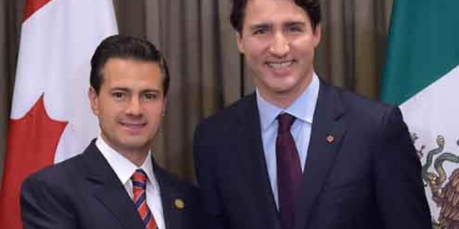 Justin Trudeau se reunirá con EPN durante cumbre del G-20