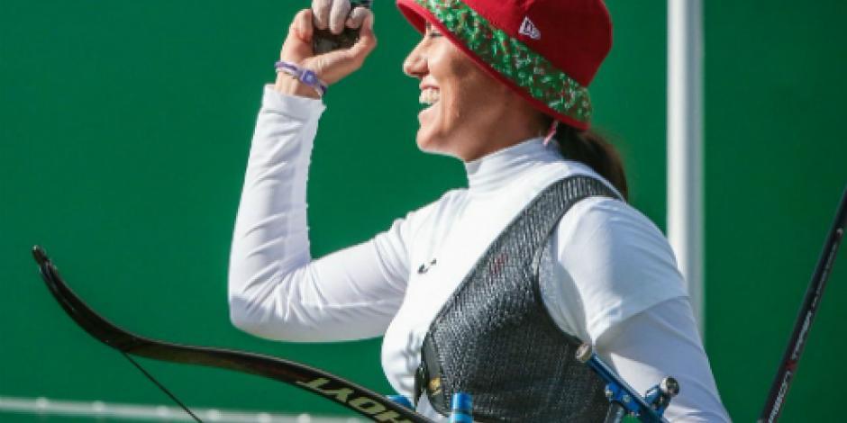 Alejandra Valencia obtiene dos medallas de plata en mundial de Tiro con Arco